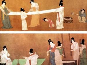 шелк, история императорской ткани