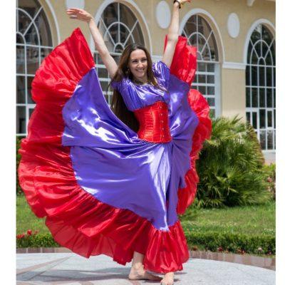цыганская юбка купить