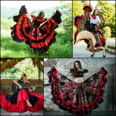1. Цыганские костюмы